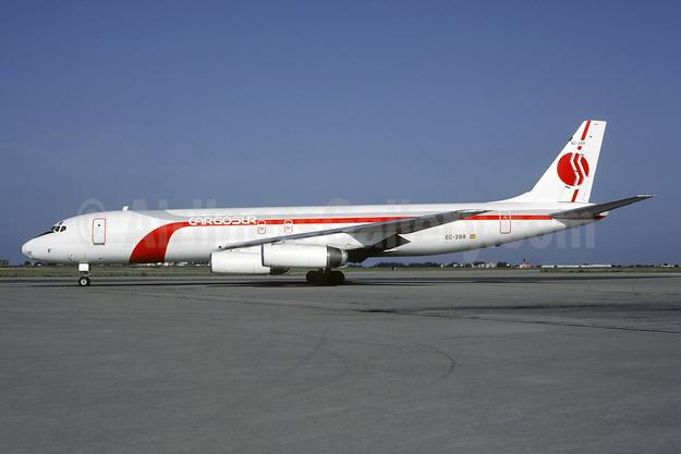 Cargosur (Spain) McDonnell Douglas DC-8-62 (F) EC-288 (EC-EQI) (msn 45895) ORY (Jacques Guillem). Image: 955507.