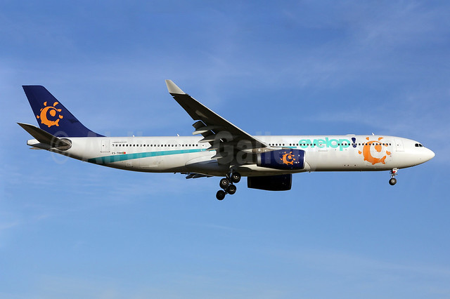 Evelop Airlines' first Airbus A330