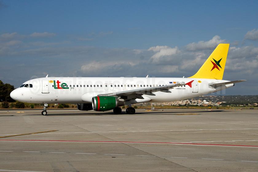 Lte.es Airbus A320-212 EC-JTA (msn 445) PMI (Ton Jochems). Image: 953054.