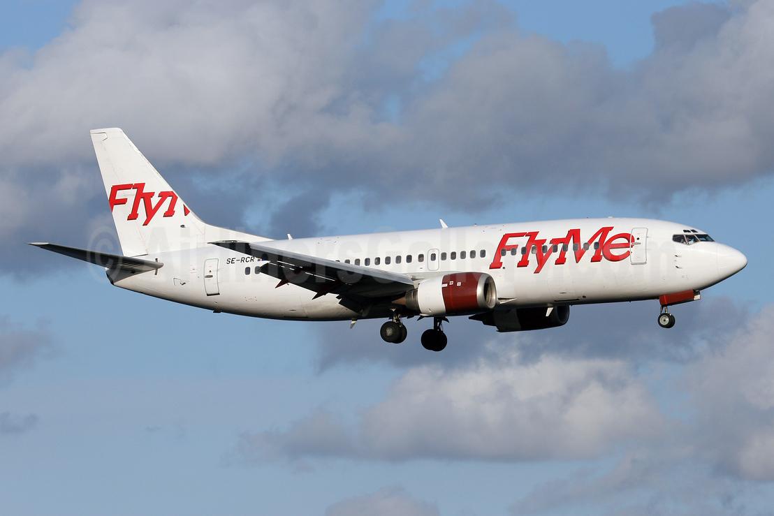 FlyMe (Sweden) Boeing 737-33A SE-RCR (msn 24026) ARN (Stefan Sjogren). Image: 940693.