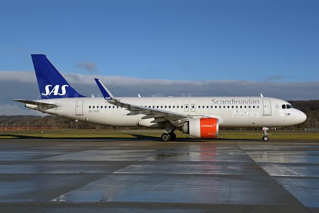 Scandinavian Airlines-SAS Airbus A320-251N WL SE-ROP (msn 8350) ZRH (Rolf Wallner). Image: 945341.