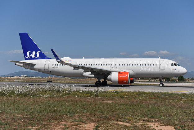 Scandinavian Airlines-SAS Airbus A320-251N WL SE-DOZ (msn 7565) PMI (Ton Jochems). Image: 943344.
