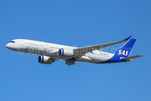 Scandinavian Airlines-SAS Airbus A350-941 SE-RSC (msn 391) TLS (Eurospot). Image: 954529.