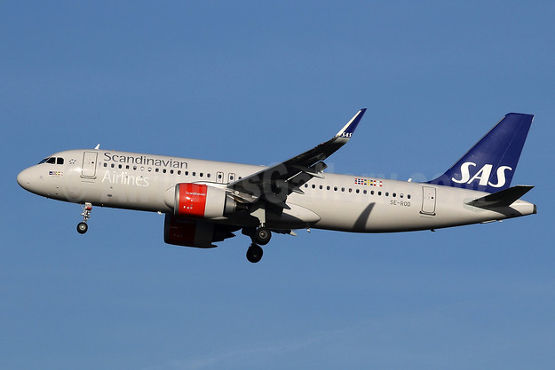 Scandinavian Airlines-SAS Airbus A320-251N WL SE-ROD (msn 7755) LHR (SPA). Image: 940345.