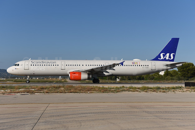 Scandinavian Airlines-SAS Airbus A321-232 OY-KBB (msn 1642) PMI (Ton Jochems). Image: 943592.
