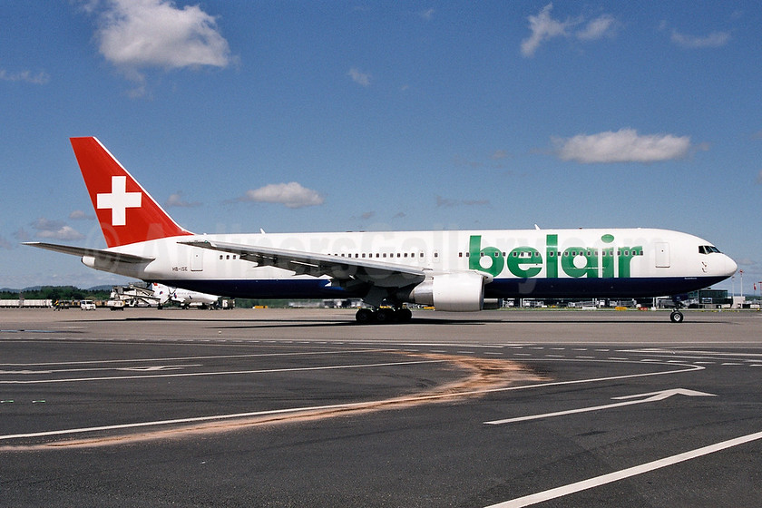 Belair Airlines Boeing 767-3Q8 ER HB-ISE (msn 27600) ZRH (Ton Jochems). Image: 952801.