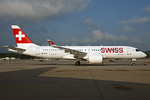 Swiss' first Bombardier CS300, delivered on May 26, 2017, in service May 31, 2017