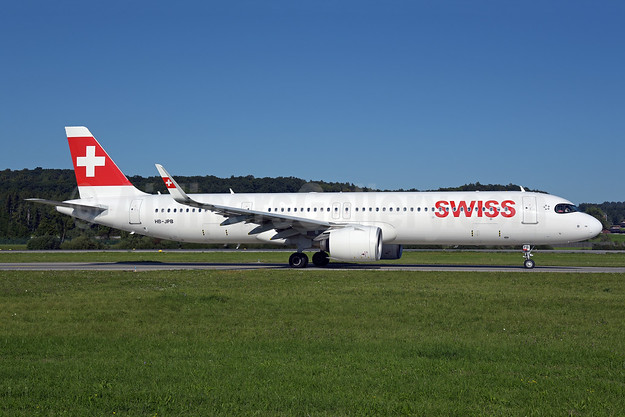 Swiss International Air Lines Airbus A321-271NX WL HB-JPB (msn 10115) ZRH (Rolf Wallner). Image: 955097.