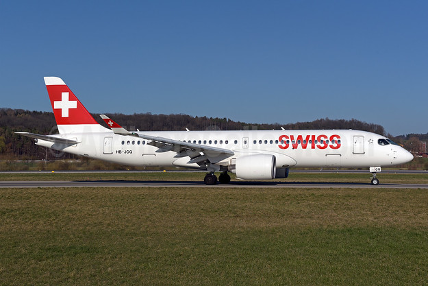 Swiss International Air Lines Airbus A220-300 (Bombardier CS300 - BD-500-1A11) HB-JCQ (msn 55040) ZRH (Rolf Wallner). Image: 947070.