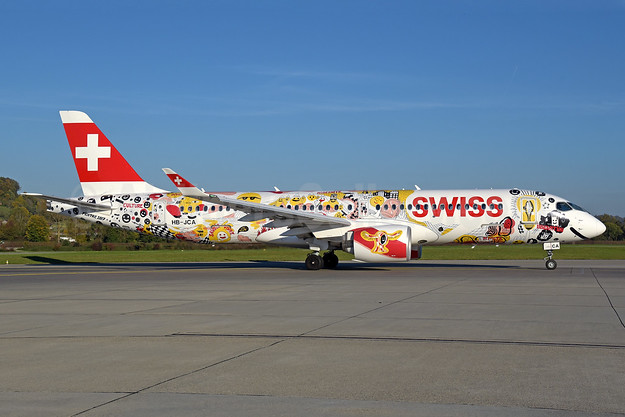 """Swiss Romandy"" special livery"