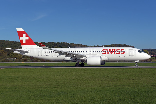 Swiss International Air Lines Airbus A220-300 (Bombardier CS300 - BD-500-1A11) HB-JCO (msn 55033) ZRH (Rolf Wallner). Image: 944017.