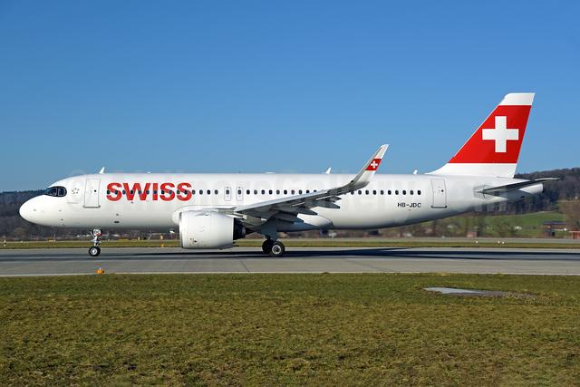 Swiss International Air Lines Airbus A320-271N WL HB-JDC (msn 10242) ZRH (Rolf Wallner). Image: 952963.