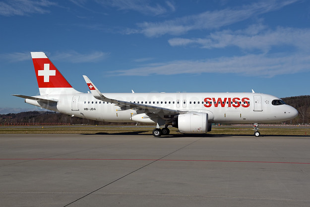 """Engelberg"", 1st A320neo, delivered on February 20, 2020"