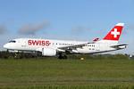 Swiss International Air Lines Bombardier CS100 (BD-500-1A10) HB-JBE (msn 50014) ZRH (Andi Hiltl). Image: 937687.