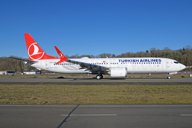 The second Boeing 737-9 MAX 9 for Turkish Airlines