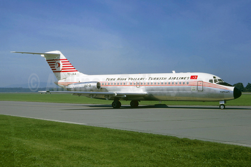 """""""Topkapi"""", leased from Douglas August 7, 1967"""
