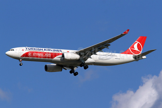 Turkish Airlines Airbus A330-343 TC-JNI (msn 1160) (Istanbul 2020) IAD (Brian McDonough). Image: 913187.
