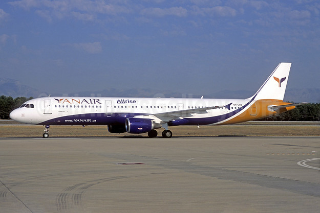 YanAir Airbus A321-112 UR-COJ (msn 765) (Allrise) (Jacques Guillem Collection). Image: 939479.