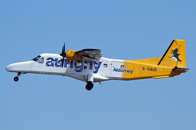 Aurigny Air Services Dornier 228-212 G-OAUR (msn 8305) GCI (Nick Dean). Image: 933761.