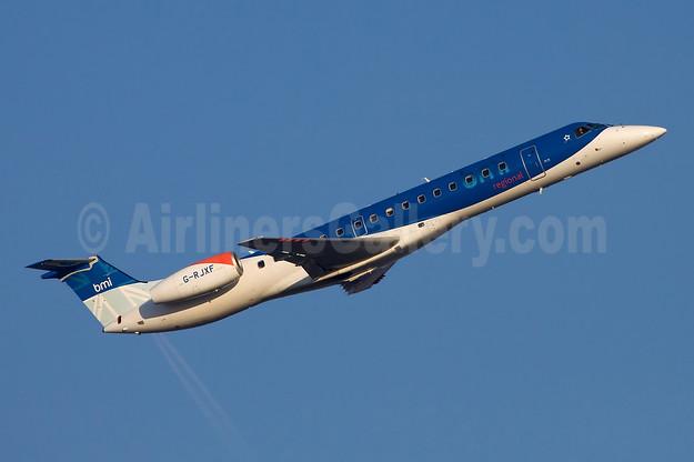 BMI Regional Embraer ERJ 145EP G-RJXF (msn 145280) FRA (Ole Simon). Image: 912328.