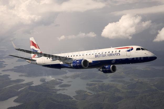 British Airways-BA CityFlyer Embraer ERJ 190-100SR G-LCYX (msn 19000178) (Bruce Drum Collection). Image: 953430.