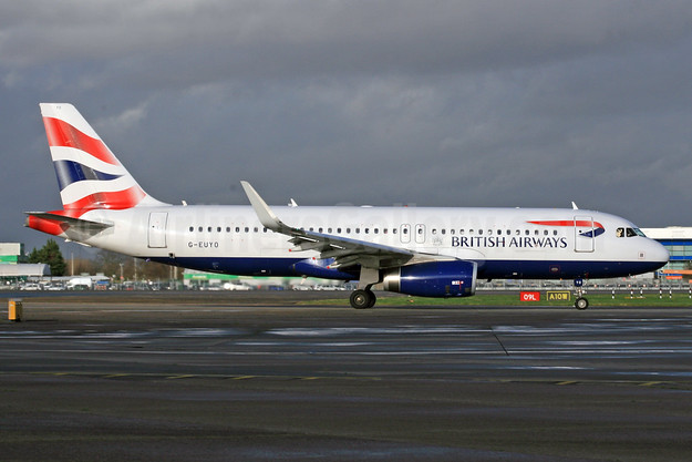 British Airways Airbus A320-232 WL G-EUYO (msn 5634) LHR (SPA). Image: 931168.