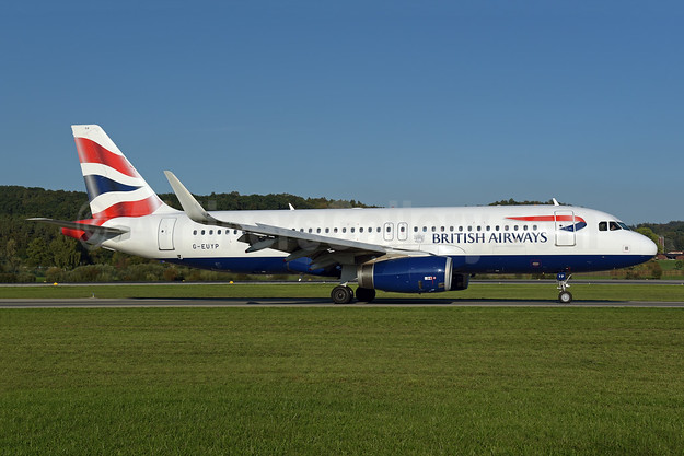 British Airways Airbus A320-232 WL G-EUYP (msn 5784) ZRH (Rolf Wallner). Image: 943606.