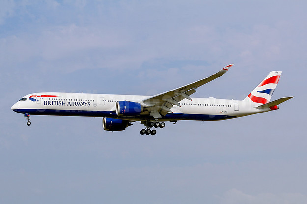 First flight of the first BA Airbus A350-1000