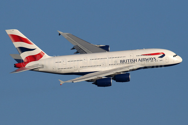 British Airways Airbus A380-841 G-XLED (msn 144) LHR (SPA). Image: 940743.