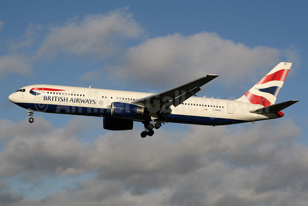 British Airways Boeing 767-336 ER G-BNWA (msn 25333) LHR (SPA). Image: 931054.
