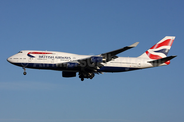 British Airways Boeing 747-436 G-BNLK (msn 24053) LHR (SPA). Image: 945271.