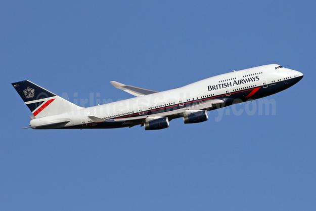 British Airways Boeing 747-436 G-BNLY (msn 27090) LHR (SPA). Image: 946275.