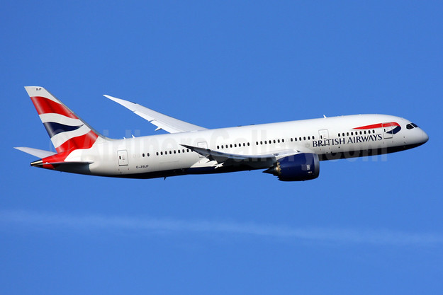 British Airways Boeing 787-8 Dreamliner G-ZBJF (msn 38613) LHR (SPA). Image: 924483.