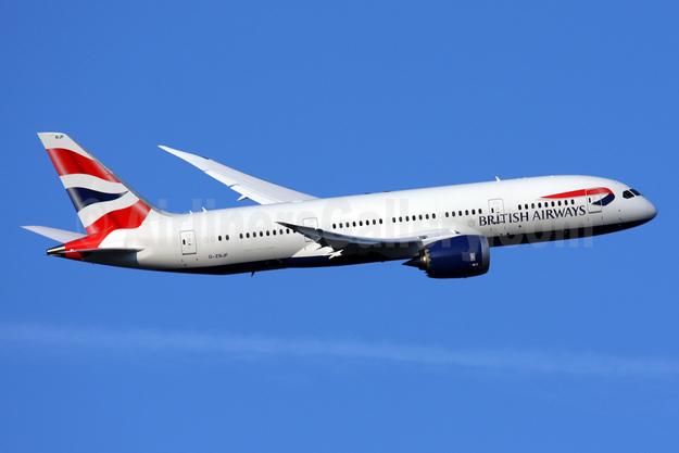 British Airways Boeing 787-8 Dreamliner G-ZBJF (msn 38613) LHR (SPA). Image: 924483.