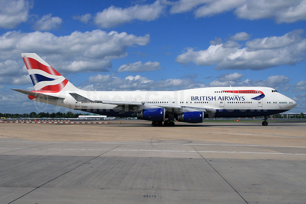 British Airways Boeing 747-436 G-BYGG (msn 28859) LHR (SPA). Image: 929324.