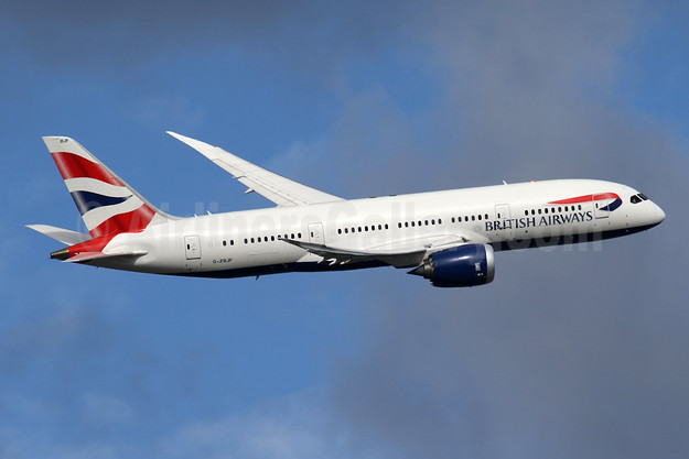 British Airways Boeing 787-8 Dreamliner G-ZBJF (msn 38613) LHR (SPA). Image: 935599.
