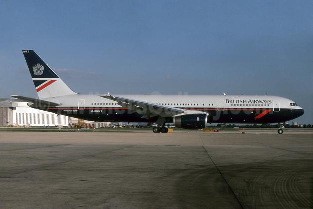 British Airways Boeing 767-336 ER G-BNWZ (msn 25733) LHR (SPA). Image: 932817.