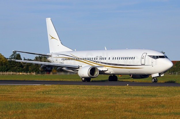 Cello Aviation Boeing 737-476 G-RAJG (msn 24439) SEN (Keith Burton). Image: 943943.