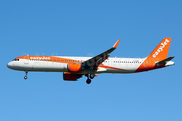 easyJet (UK) Airbus A321-251NX WL G-UZMD (msn 8421) PMI (Javier Rodriguez). Image: 951131.