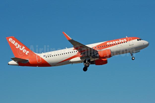 easyJet (UK) Airbus A320-214 WL G-EZON (msn 6605) LGW (SPA). Image: 941881.