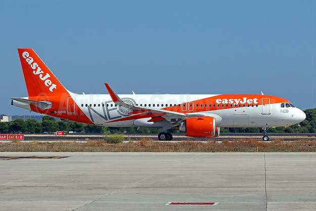 2nd easyJet Airbus A320neo, delivered on July 10, 2017