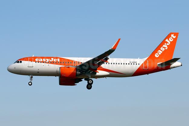 easyJet (UK) Airbus A320-251N WL G-UZHY (msn 8920) PMI (Javier Rodriguez). Image: 946991.