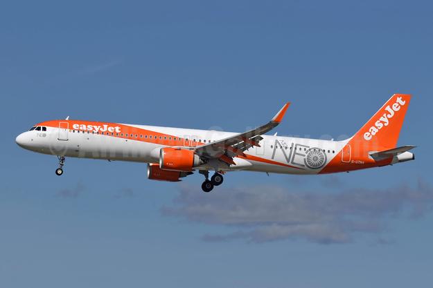easyJet (UK) Airbus A321-251NX WL G-UZMA (msn 8314) (NEO) LGW (Richard Vandervord). Image: 955150.
