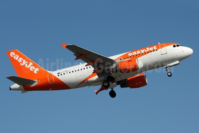 easyJet (UK) Airbus A319-111 G-EZFK (msn 4048) LGW (SPA). Image: 939923.