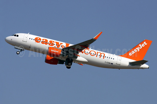 easyJet (easyJet.com) (UK) Airbus A320-214 G-EZWN (msn 5757) (Sharklets) PMI (Javier Rodriguez). Image: 913383.