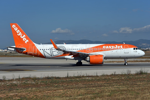 easyJet (UK) Airbus A320-251N WL G-UZHC (msn 7802) (NEO) PMI (Ton Jochems). Image: 942644.
