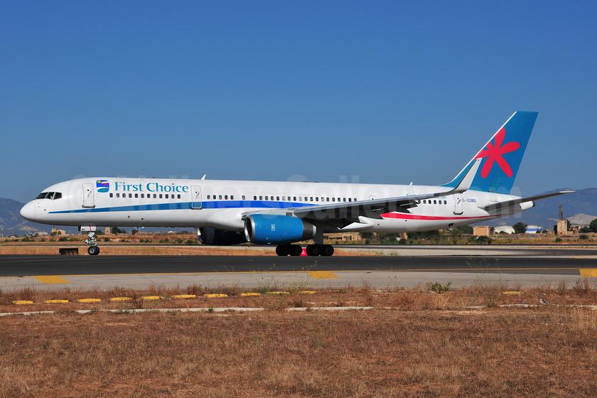 First Choice Airways Boeing 757-236 WL G-OOBG (msn 29942) PMI (Ton Jochems). Image: 952905.