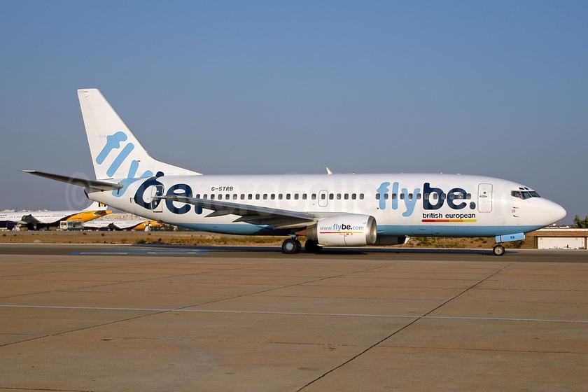 Flybe-British European (2nd) Boeing 737-3Y0 G-STRB (msn 24255) FAO (Ton Jochems). Image: 953218.
