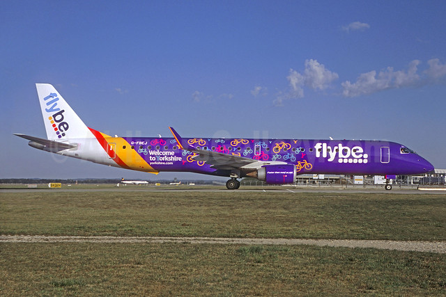 "Flybe's 2016 ""Welcome to Yorkshire"" logo jet"
