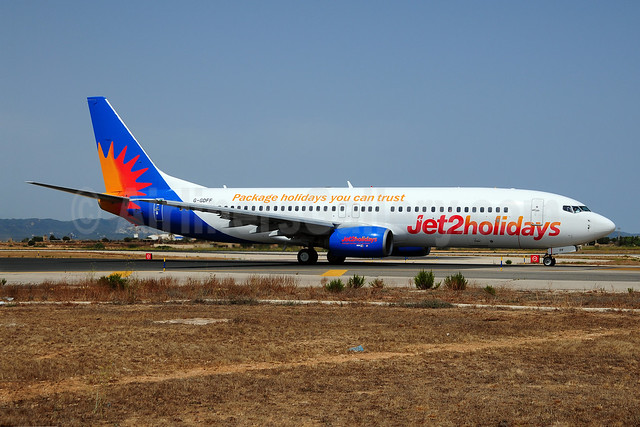 Jet2holidays (Jet2) Boeing 737-85P G-GDFF (msn 28385) (Package holidays you can trust) PMI (Ton Jochems). Image: 909215.